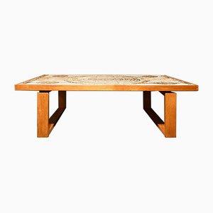 Tavolino da caffè di Ox Art per Trioh, Danimarca, anni '60