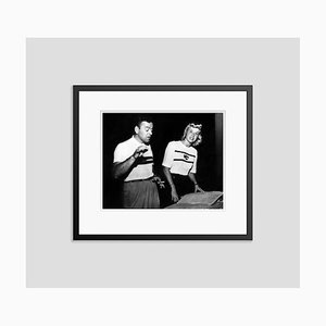 Les Brown & Doris Day Archival Pigment Print Framed in Black by Everett Collection