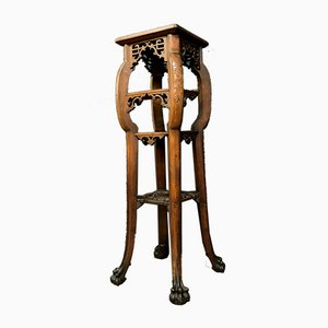 Japanese Style Pedestal Table