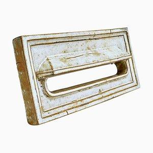 Mid-Century Belgian Handmade Sandstone Letterbox