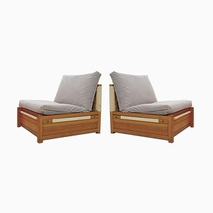 Mid-Century Italian Outdoor Armchairs, Creaer, Set of 2