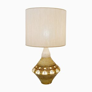 French Ceramic Table Lamp by Georges Pelletier, 1970s