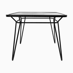 Wrought Iron Square Table by Ico Parisi, 1950s