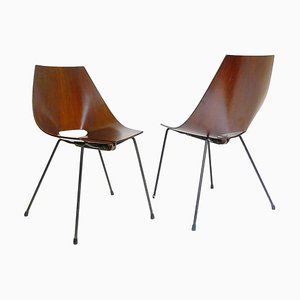 Italian Chairs by Carlo Ratti, 1950s, Set of 2