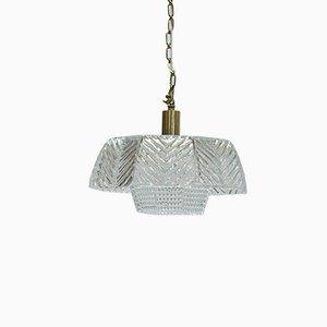 Lampada da soffitto di Carl Fagerlund per Orrefors, anni '60
