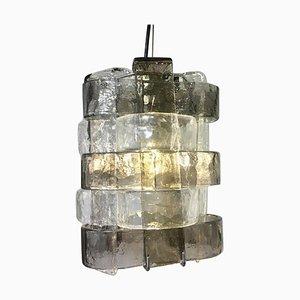 Lampada a sospensione in vetro di Murano di Carlo Nason, Italia, anni '60