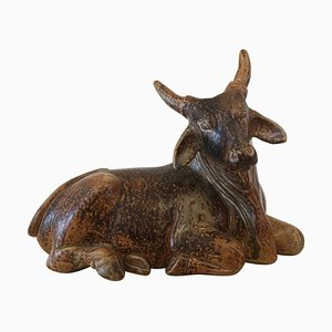 Taurus in Ceramic by Knud Kyhn, 1950s