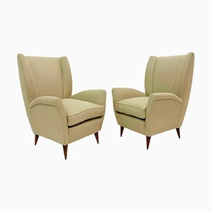 Model 512 Armchairs by Gio Ponti, Italy, 1950s, Set of 2