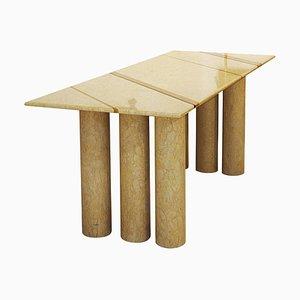 Tavolo da pranzo Colonato in marmo di Mario Bellini, anni '70