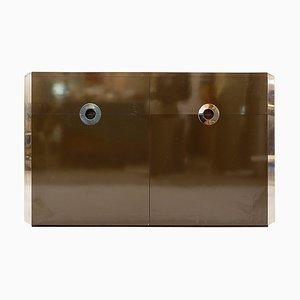 Zweitüriges Sideboard von Willy Rizzo für Mario Sabot, 1972