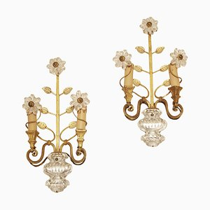 Sconces by Maison Baguès, Paris, 1950s, Set of 2