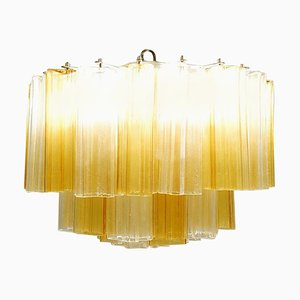 Murano Glass Tronchi Chandelier, 1970s