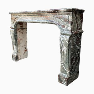 Louis XIV Style Campan Marble Fireplace