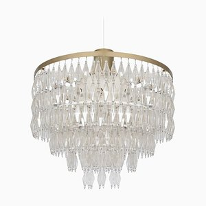 Large German Chandelier, 1950s