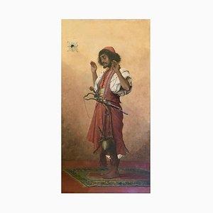 Soldat de la Prière arabe par Théophile Marie Françoise Lybaert, Belgique, 1899
