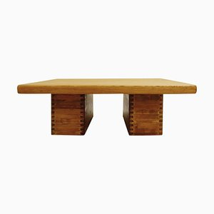 Pine Coffee Table by Ilmari Tapiovaara for Laukaan Puu, Finland, 1950s