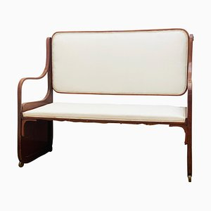 Viennese Secession Bentwood Bench by Koloman Moser, 1900s