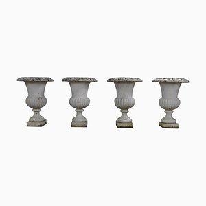 19th Century Charles X Medici Style Vases, Set of 4