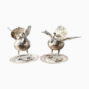 Bruciatori di incenso in argento, Stati Uniti, set di 2