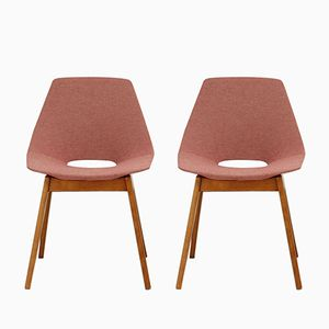 Tonneau Chairs by Pierre Guariche for Steiner, Set of 2