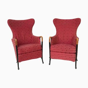Italian Progetti Armchairs by Umberto Asnago for Giorgetti, 1980s, Set of 2