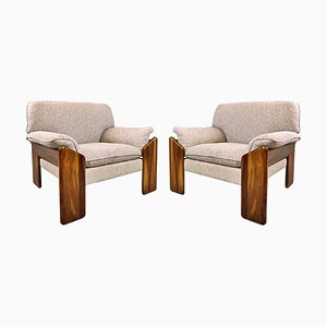 Armchairs by Mario Marenco, Italy, 1980s, Set of 2
