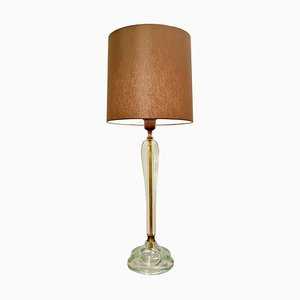 Glass Table Lamp from Seguso, 1940s