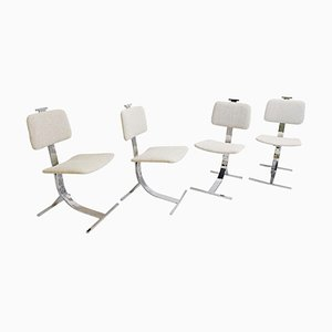 MId-Century Dining Chairs, Italy, Set of 4