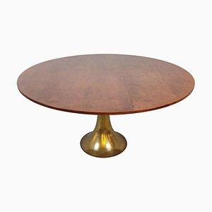 Table de Salle à Manger Modèle 302 par Angelo Mangiarotti pour Bernini, Italie, 1960s