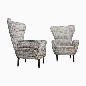 Vintage Armchairs by Emilia Sala and Giorgio Madini, Set of 2
