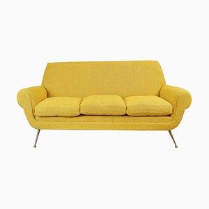 3-Sitziges Curry Sofa von Gigi Radice für Minotti, 1950er
