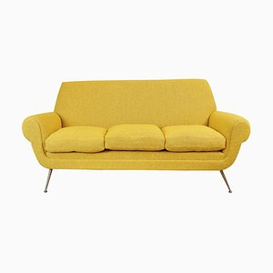 Curry Color 3-Seat Sofa by Gigi Radice for Minotti, 1950s