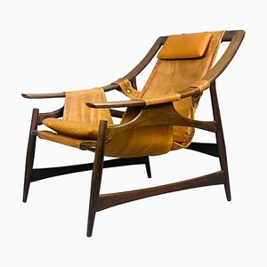 Brazilian Lounge Chairs by Liceu de Artes e Oficios, 1960s, Set of 2
