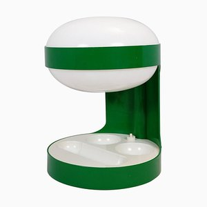 Green Model KD29 Table Lamp by Joe Colombo for Kartell, 1967