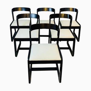 Chairs Attributed to Willy Rizzo, 1970s, Set of 6