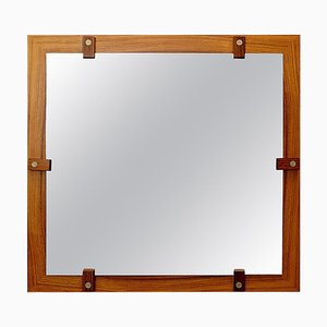 Vintage Italian Wooden Mirror