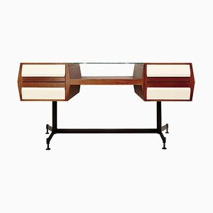 Italian Double Sided Desk, 1960s
