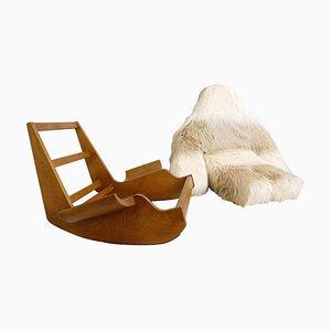 Yeti Pop Art Rocking Chair by Mario Scheichenbauer, 1968
