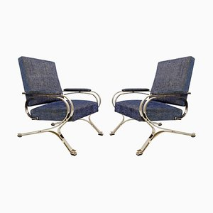 Micaela Armchairs by Gianni Moscatelli for Formanova, 1970s, Set of 2