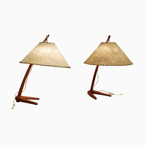Dornstab Table Lamp by J.T. Kalmar for Kalmar Werkstaetten, 1940s