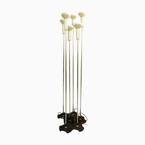 Modell 1074 Stehlampen von Gino Sarfatti für Arteluce, 1950er, 3er Set