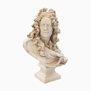 19th Century Belgian Bust of Corneille Van Cleve by Jean-Jacques Caffieri