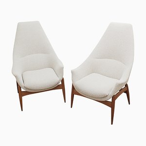 Armchairs by Julia Gaubek, Hungary, 1970s, Set of 2