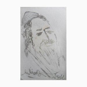 Litografia Rabbi di Edgar Stoebel, set di 2