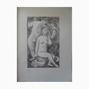 The Bathers Lithograph by Maurice Savin