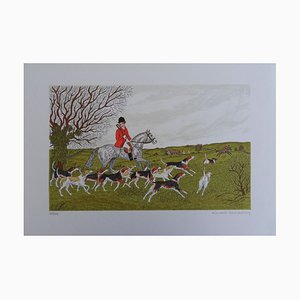 The Hunt for the English Lithograph by Vincent Haddelsey