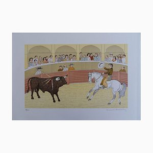 The Picador Lithograph by Vincent Haddelsey