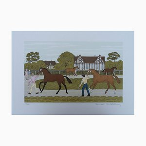 The Yearling Lithografie von Vincent Haddelsey