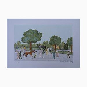 Litografia The Equestrian Center Entry di Vincent Haddelsey