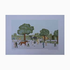 The Equestrian Center Entry Lithograph by Vincent Haddelsey